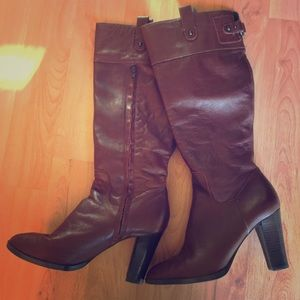 Banana Republic Red/Brown Boots